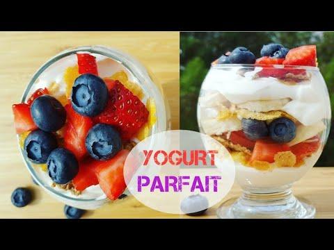 Healthy Breakfast Parfait   Fruit & Yogurt Parfait   Healthy Breakfast Recipe Easy