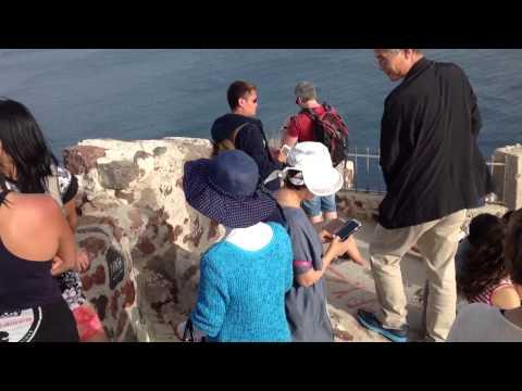Santorini Venetian Ruin