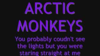 LYRICS Arctic Monkeys - You Probably Couldn