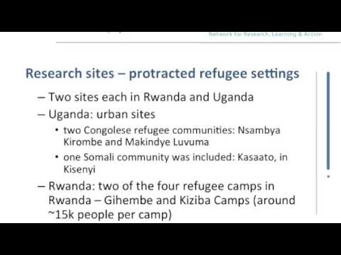 Part 1: Community-Based Child Protection Mechanisms in Protracted Refugee Settings