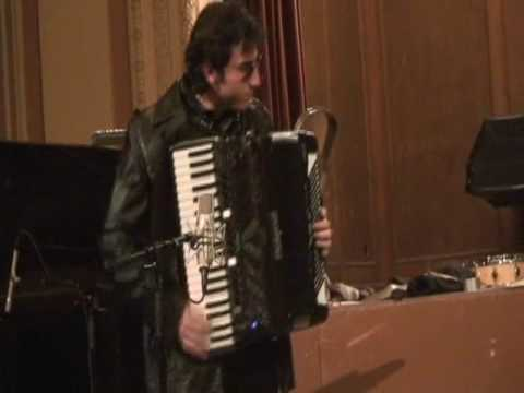 """Jazz Accordion, 2006 Caravan - Cory Pesaturo Here - This is a few sections of a version of """"Caravan"""" with Matt Rousseau on Drums.  Warning: INTENSE Improvising haha...."""