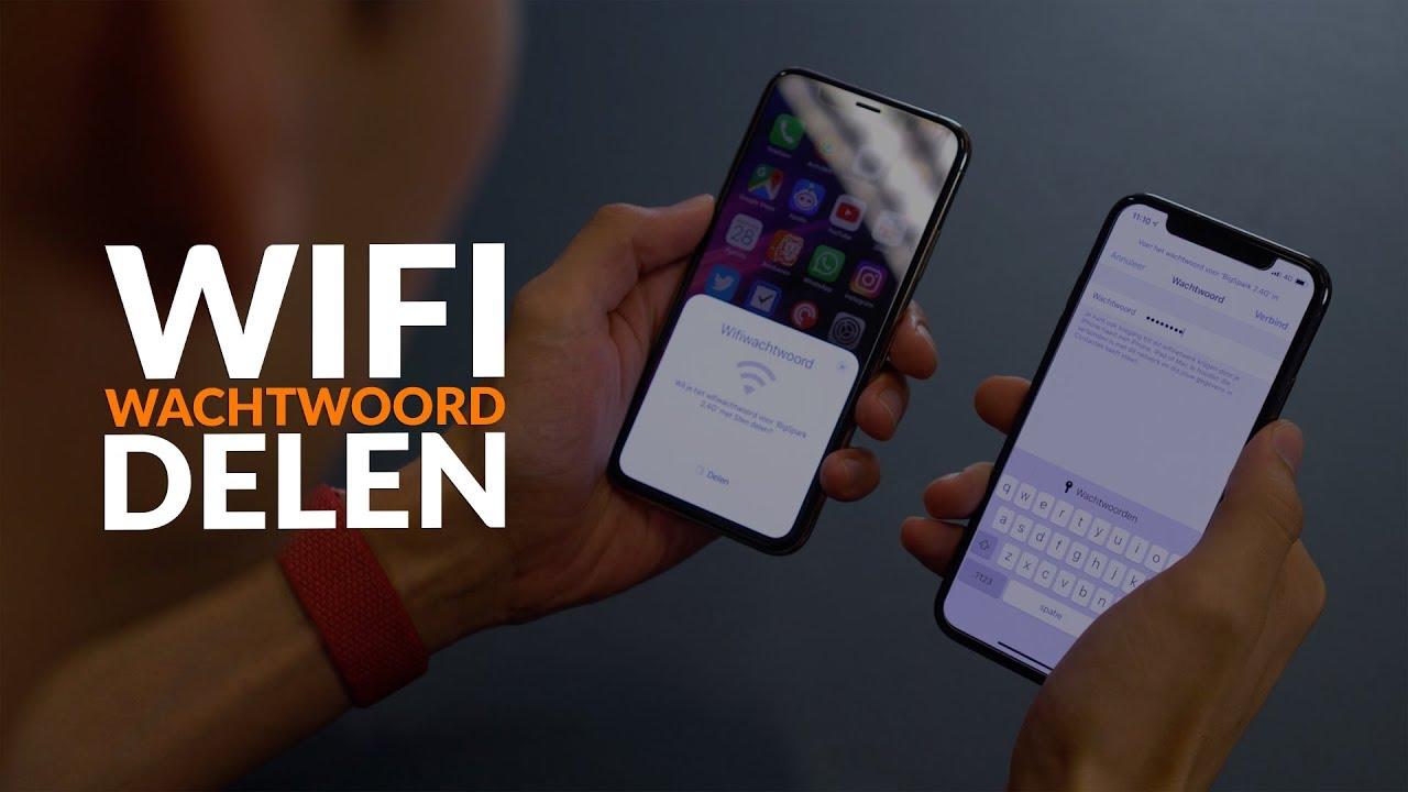 Supersnel een wifi-wachtwoord delen met je iPhone: zo doe je dat