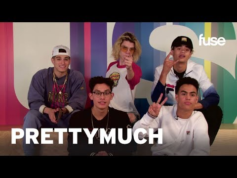 PRETTYMUCH Plays Phone Swap | Fuse First | Fuse