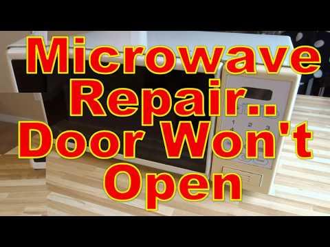 microwave-repair---door-stuck