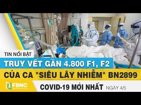 Tin Tức Covid-19 Mới Nhất Hôm Nay 4/5   Dich Virus Corona Việt Nam Hôm Nay   FBNC