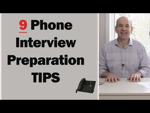 9 Phone Interview Tips to ACING Your Interview - YouTube