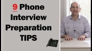 9 Phone Interview Tips to ACING Your Interview