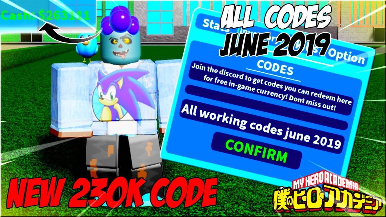 [New 230k Code] All Working Codes June 2019| Boku No ...