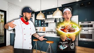 I was FaZe Rugs CHEF for 24 hrs & this is how it went...