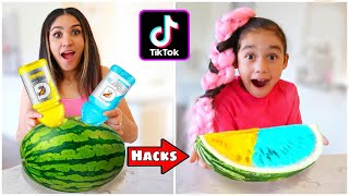 We Tested VIRAL TikTok FOOD HACKS!! *MOST SHOCKING* (Part 3) | Jancy Family