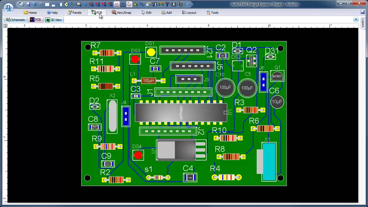Großartig Pcb Express Software Herunterladen Bilder - Schaltplan ...