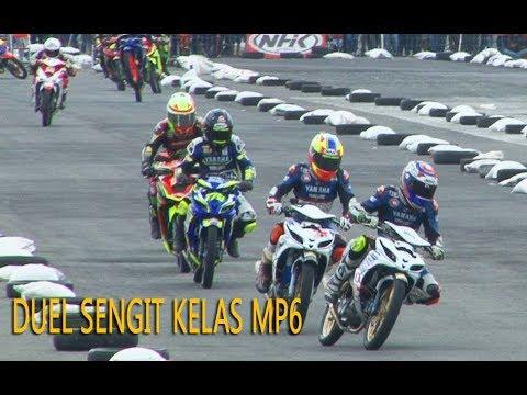 DUEL SENGIT PARA PEMBALAP TANGGUH INDONESIA  DI MOTOPRIX WONOSARI 2017