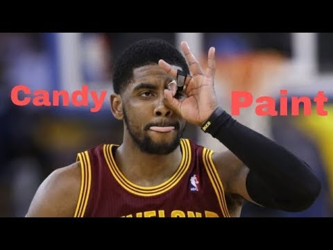 Kyrie Irving candy paint-Post Malone