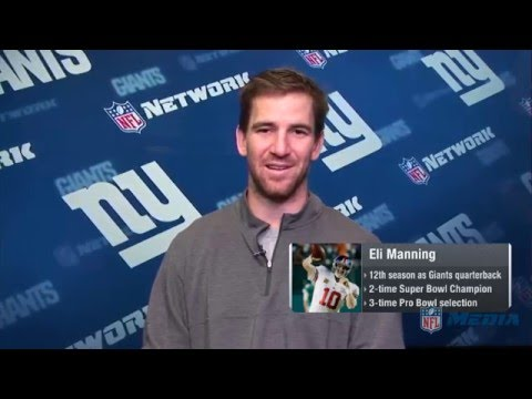 Eli Manning Nominated for Walter Payton Man of the Year