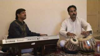 Pandit Manoj Srivastav on Tabla - Bhajan at Amlekar Residence in Gurgaon India