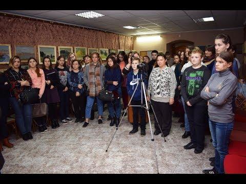 Выставка работ Ш.А. Валиева в музее города Маркса