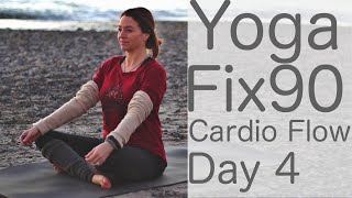 Yoga Cardio Flow Day 4 Yoga Fix 90 With Fightmaster Yoga
