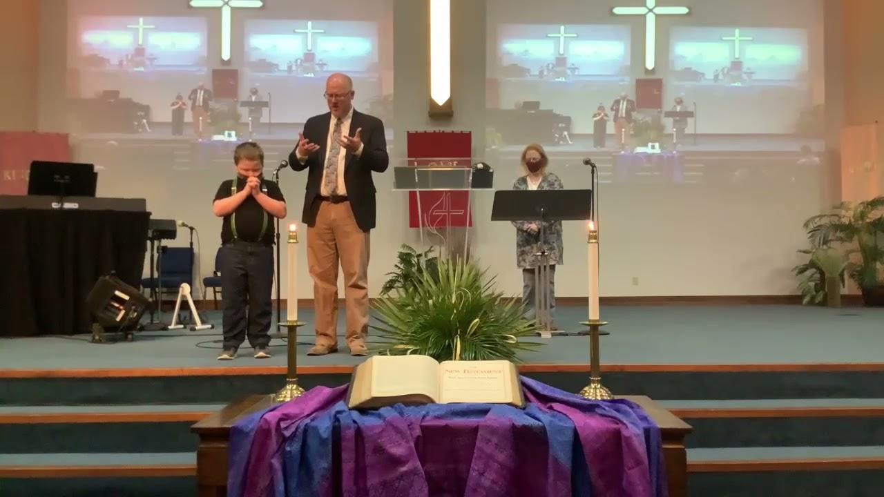 March 28, 2021 - Palm Sunday Worship