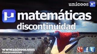 Discontinuidad evitable BACHILLERATO matematicas