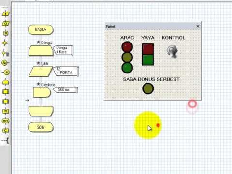 Flowcode Tutorial: Traffic Control