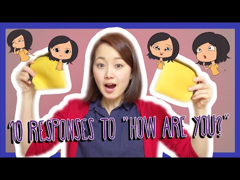 """Top 10 Responses to """"How are you?"""" in Japanese (Việt Sub)"""
