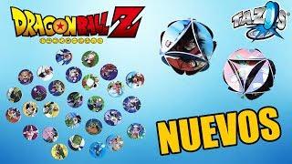 NUEVOS TAZOS DE DRAGON BALL Z | XFERAS