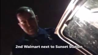 Walmart car camping problems with police; Henderson; near Las Vegas, Nevada