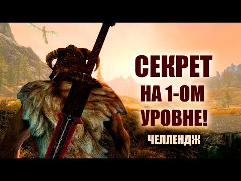Skyrim - СЕКРЕТ НА 1-ОМ УРОВНЕ! ЧЕЛЛЕНДЖ! thumbnail