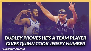 Lakers Offseason: Jared Dudley Gives Number to Quinn Cook To Help Honor Cook