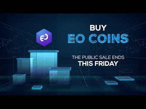 EO Coin Public Sale Ends Tomorrow