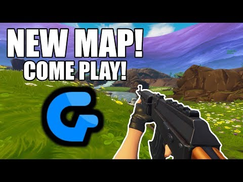 NEW GEDNITE MAP | PLAYING WITH VIEWERS!