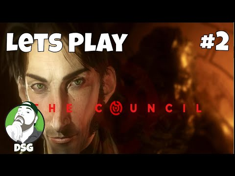 Lets Play  - The Council -  Part 2 - Happy Birthday Mr. President