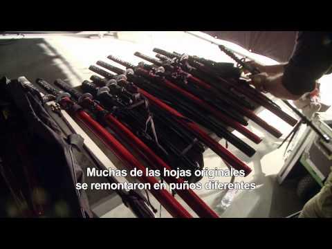 LA LEYENDA DEL SAMURÁI - 47 RONIN. Las armas