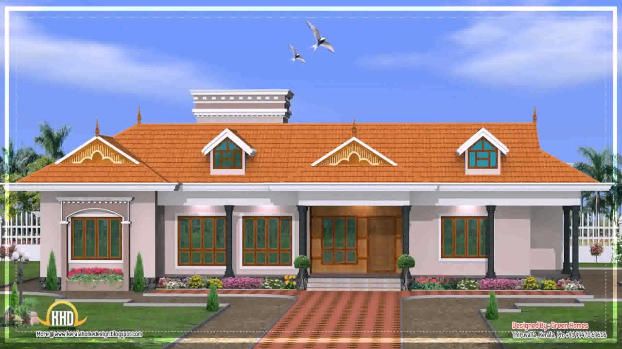 Kerala Style House Roof   YouTube