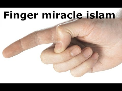 Finger miracle in islam ( identity)