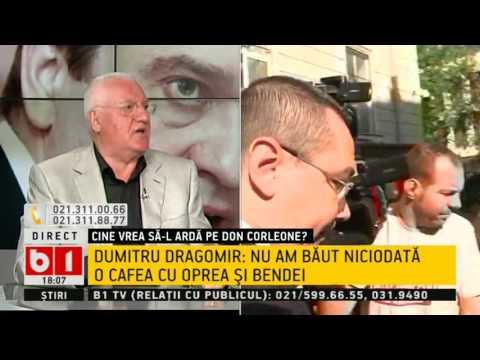 Dumitru Dragomir: Sunt prins în lupta a două mari trusturi de presă.