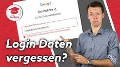 Login E-Mail-Adresse von YouTube-Kanal vergessen? So findest du sie heraus!