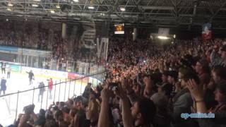 DEL2-Meister! Löwen Frankfurt feiern mit Fans