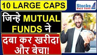 LARGE CAP STOCKS जिन्हे MUTUAL FUNDS ने जम कर खरीदा और बेचा JUNE 2019 में   STOCKS TO INVEST IN 2019