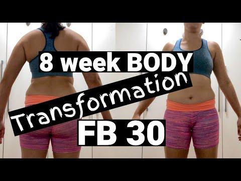 8 WEEK BODY TRANSFORMATION DOING FITNESSBLENDER FB 30!