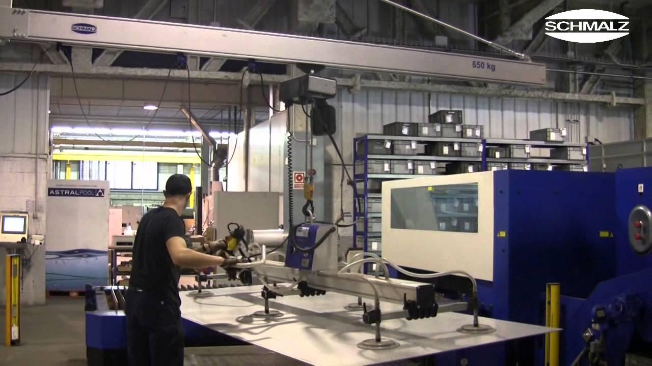 Vacuum Lifting Device Vacumaster Basic Ergonomic Loading