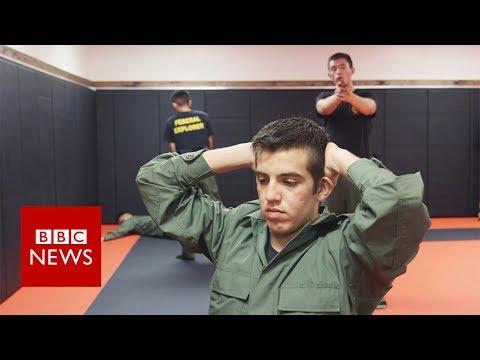 'Not bad guys' - US teens playing border patrol - BBC News