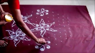 Dot Kolam 11 to 6 interlaced  B