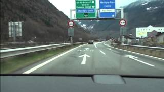 Driving in Switzerland - Montreux to Martigny(, 2013-02-13T14:13:10.000Z)