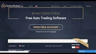 Option Robot UPDATE, IT WORKS! Evidence Video!