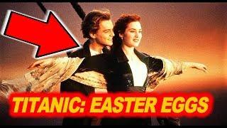 🚢 30 EASTER EGGS in TITANIC ( 1997 )