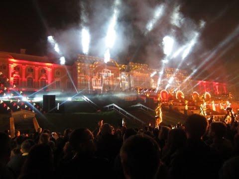 Закрытие фонтанов в Петергофе 2016