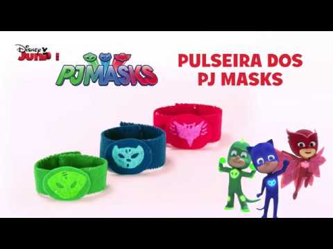 Pj Masks Tutorial Pulseira Dos Pj Masks Youtube
