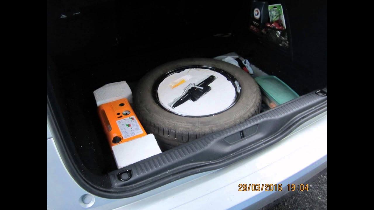 c4 picasso 2 bluehdi 150 mise en place d 39 une vraie roue de secours et consommation youtube. Black Bedroom Furniture Sets. Home Design Ideas