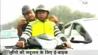 Hero Electric e-Bike Taxi Service - NDTV India